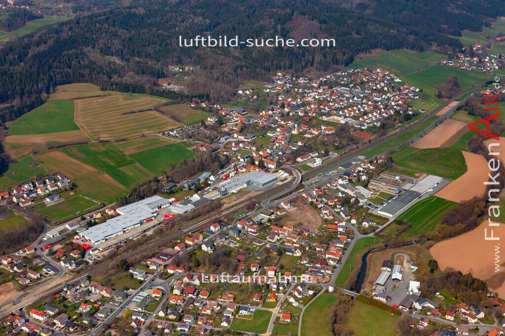 stockheim-19-893 | aktuelles Luftbild von  Stockheim  - Luftaufnahme wurde 2019 von https://frankenair.de mittels Flugzeug (keine Drohne) erstellt.