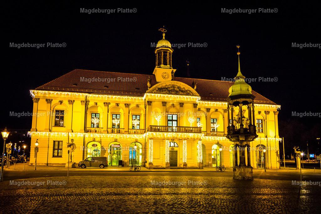 Lichterwelt-3474   Luftbilder aus der Vogelperspektive von MAGDEBURG mit Drohne oder von oben fotografiert für die Bilddatenbank der Luftbildfotografie von Sachsen - Anhalt.