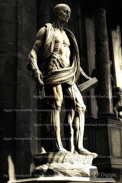 Hl. Bartholomäus aus dem Jahr 1562  (2) | Hl. Bartholomäus