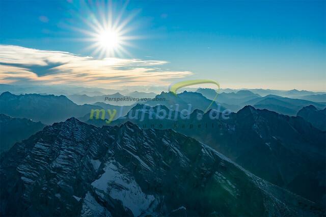 luftbild-watzmann-bruno-kapeller-03 | Luftaufnahme vom Watzmann 2713m