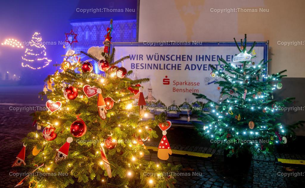 DSC_3914 | ble,Lorsch, blaues Weihnachtswunder, Innenstadt, ,, Bild: Thomas Neu