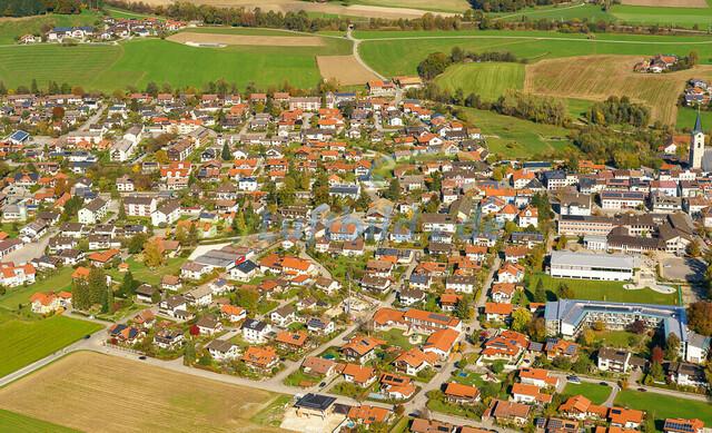 luftbild-teisendorf-bruno-kapeller-43 | Luftaufnahme von Teisendorf im Herbst 2019