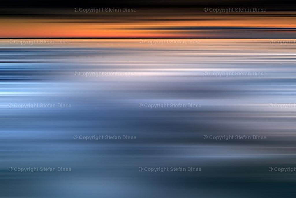 longexposure baltic boulder seascape after sunset | longexposure baltic boulder seascape after sunset