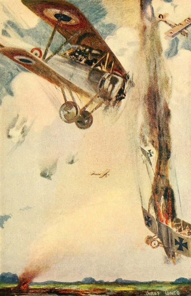 Cuneo_ Cyrus (1879-1916) - Story of the Great War 1919 - Daredevils fought