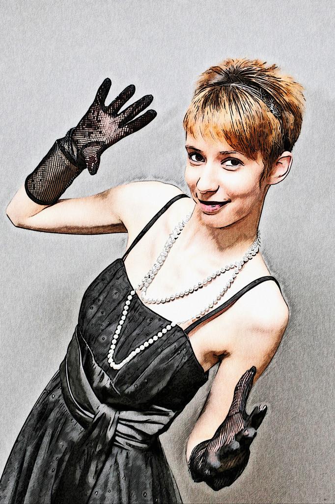 Handschuh Lady Bild 047