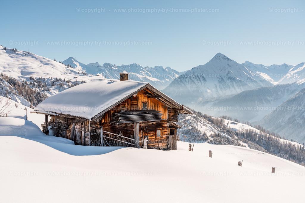 Hütte in den Tuxer Alpen-1