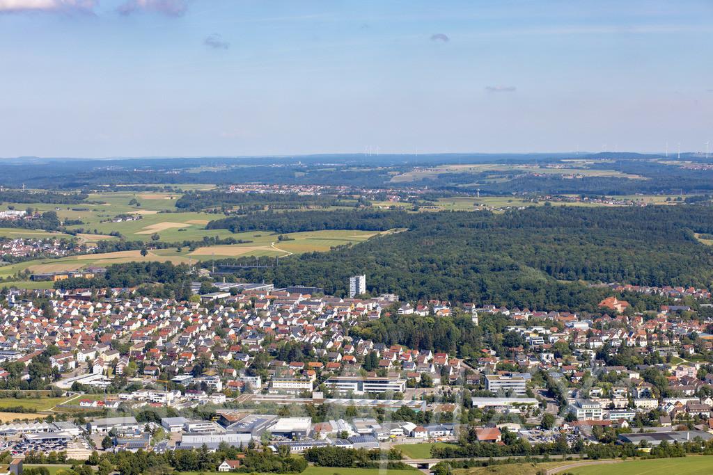 Aalen 'Hüttfeld' und Stadtwald