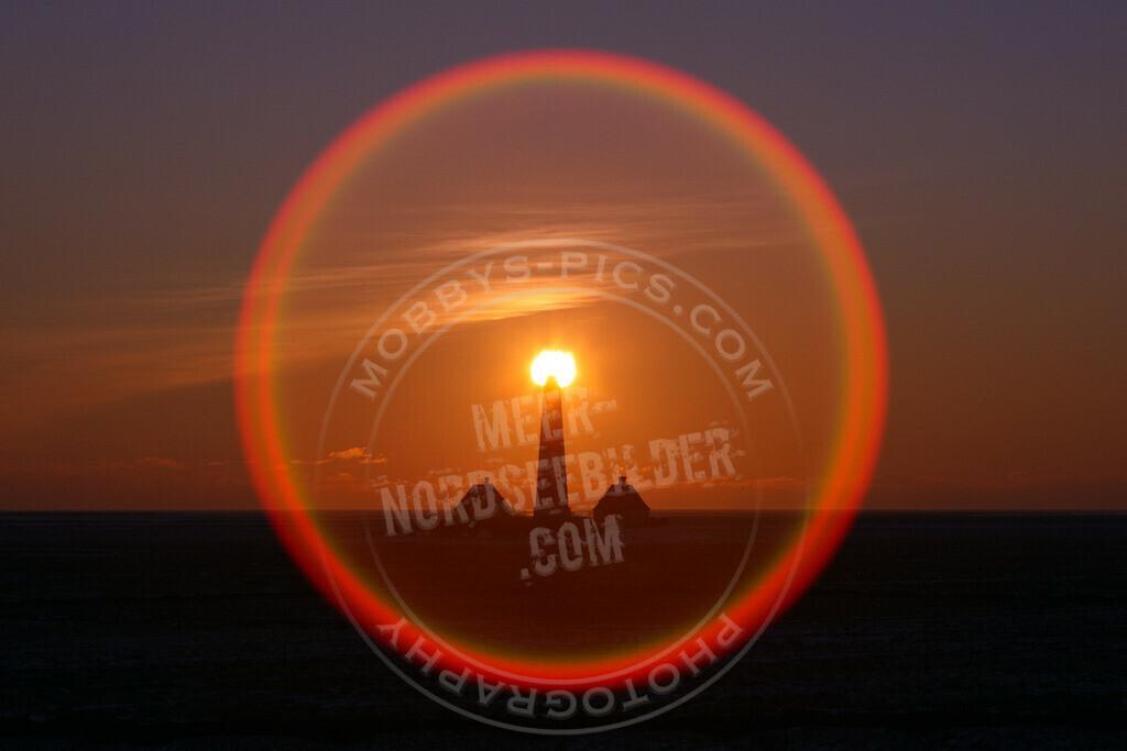 MOBY1958 | Natürliches Leuchtfeuer Westerhever Leuchtturm