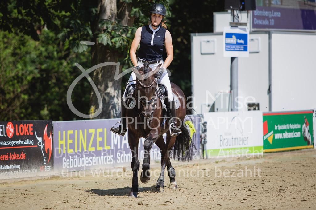 200819_Delbrück_Sprpf-A_2_1-258 | Delbrück Masters 2020 Springpferdeprüfung Kl. A** 4-6jährige Pferde