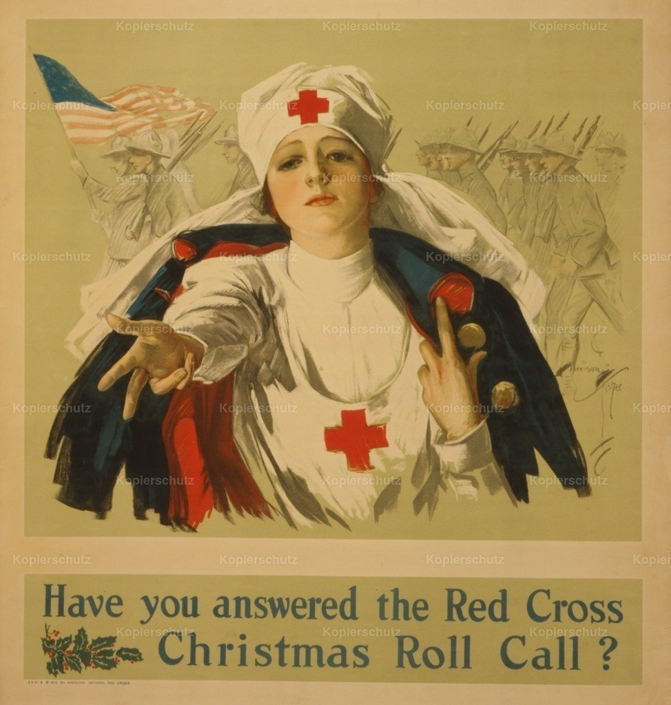 Fisher_ Harrison (1875-1934) - Poster c.1918 - Have you answered the Red Cross