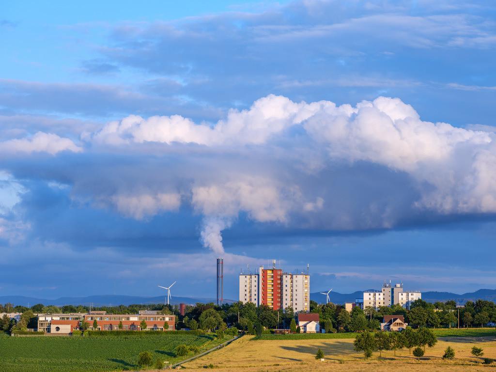 Clouds over _Baumheide_ _1 (Bielefeld_ Germany)