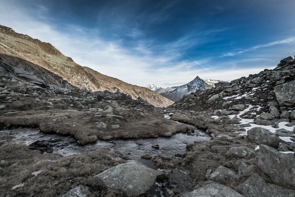 Bergspitze in Bad Gastein
