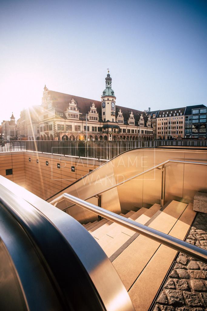 Leipzig altes Rathaus Marktplatz (1)