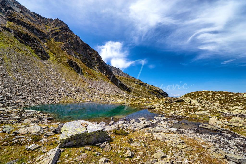 Blauer See | Einer der blauen Seen im Viggartal