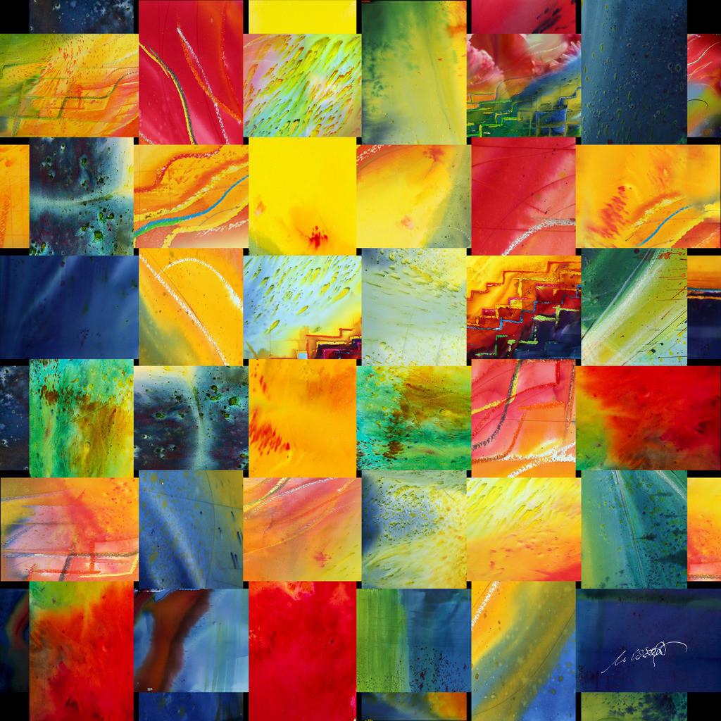 Alle Farben des Lebens | DAS LEBEN UND SEINE FARBEN:  Beobachtet man das Leben, ist es ein Geflecht aus Mensch und Zeit. Wie Großartiges in Niedrigem, durchschneidet Vertikales unseren Horizont. Nur die Zeit und die Andacht lassen das Muster erahnen. Erst nach der letzten Stunde hat man alle Farben gesehen. die das Leben und der Mensch gemalt haben.