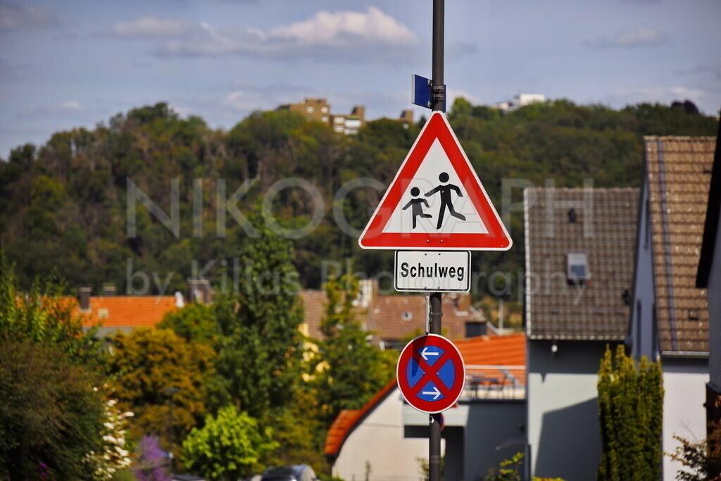 Achtung Schulweg   Photo des Verkehrsschildes