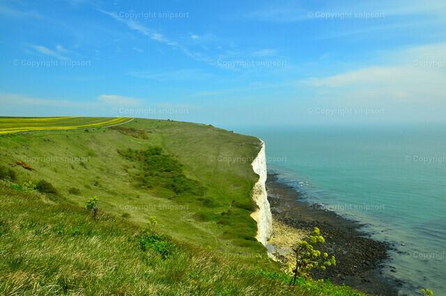 White Cliffs bei Dover | Die weißen Kreidefelsen (White Cliffs) bei Dover, England