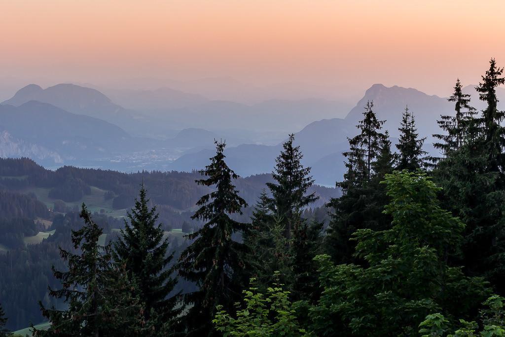 Sonnenuntergang Nähe Kufstein