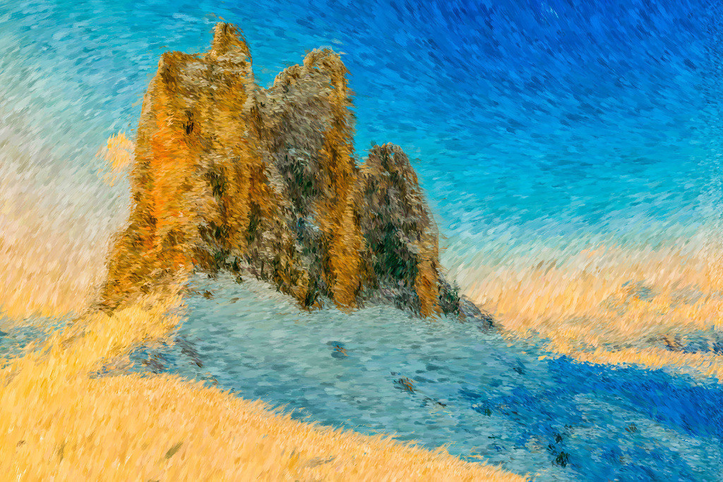 Winterlandschaft | Fotografie trifft auf Digital Painting, moderne Malerei - Mixed Media. Die Entstehung dieser Kunstserie erfolgt über Fotografie und digital Painting. Die digitale Vorgehensweise ermöglicht es mir Kunstwerke zu erschaffen die mit konventioneller Herangehensweise nicht zu realisieren sind.