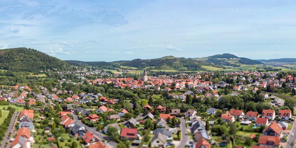 Panorama Zierenberg vom Schlag_2zu1