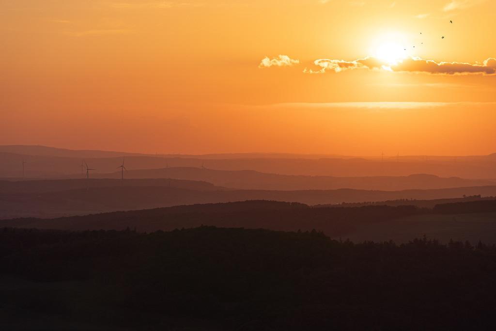 Sunset im Taunus