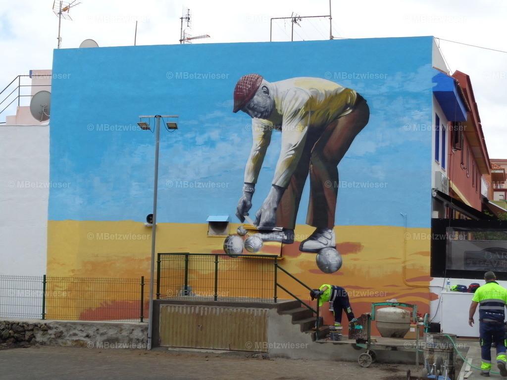 DSC00949 | Petanca als Wandbild in San Jose