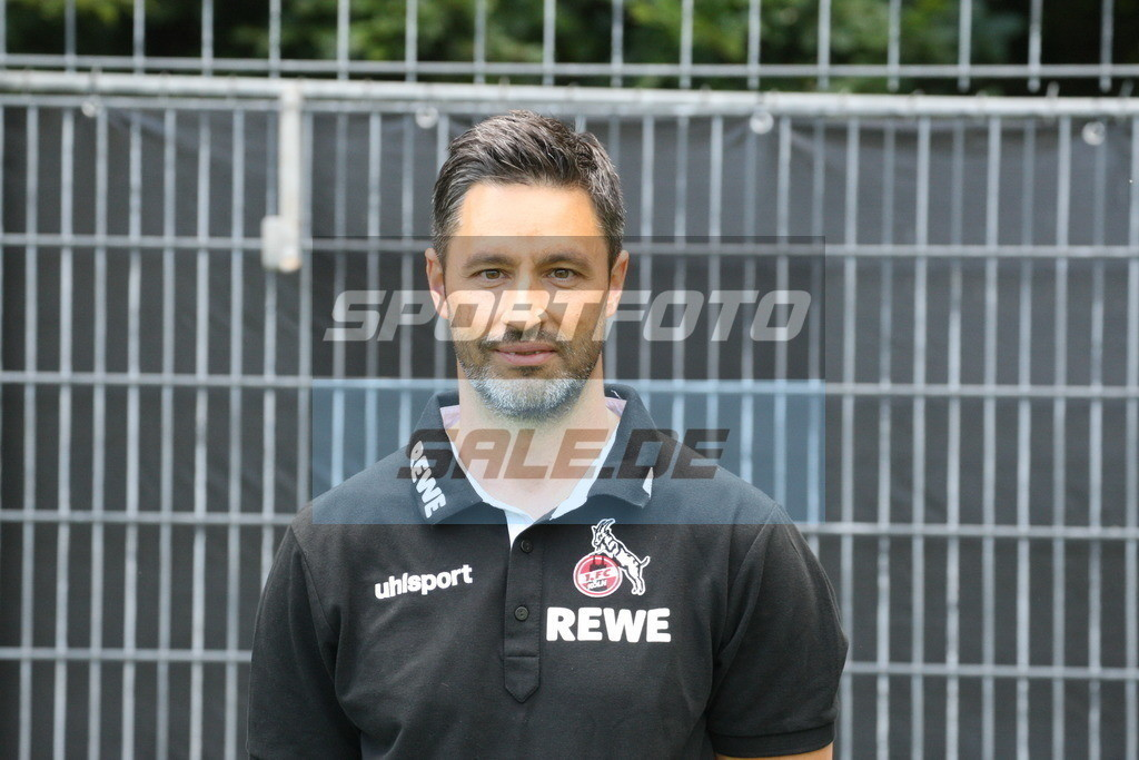 1. FC Köln Fotoshooting   Niko Romm - © Sportfoto-Sale (MK)