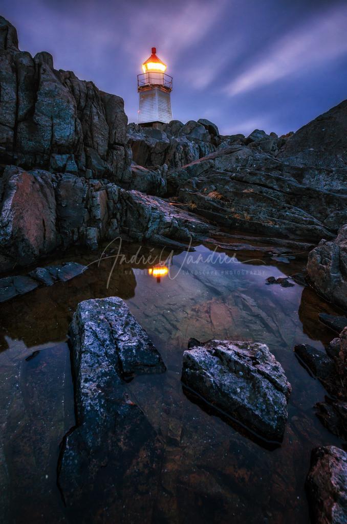 Licht auf den Klippen
