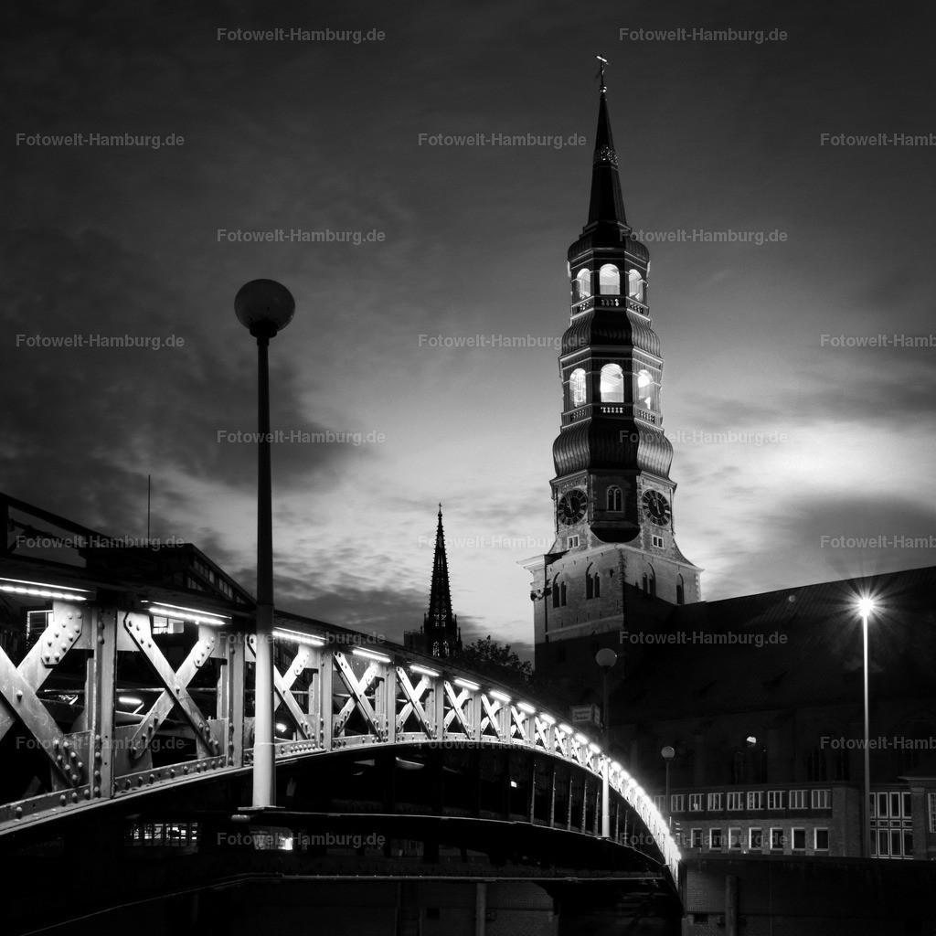 11287944 - Katharinenkirche in schwarzweiss