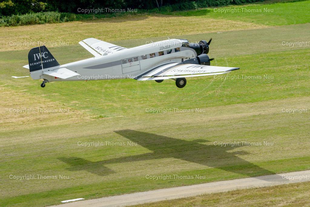 DSC_3878 | Bensheim,Flugtag, Bensheimer Segelflieger wieder war die Ju 52 der Stargast, , Bild. Thomas Neu