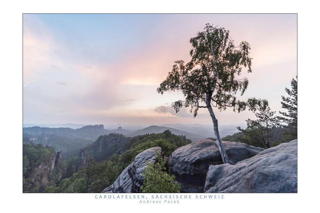 Carolafelsen, Sächsische Schweiz   Die Serie 'Deutschlands Landschaften' zeigt die schönsten und wildesten deutschen Landschaften.