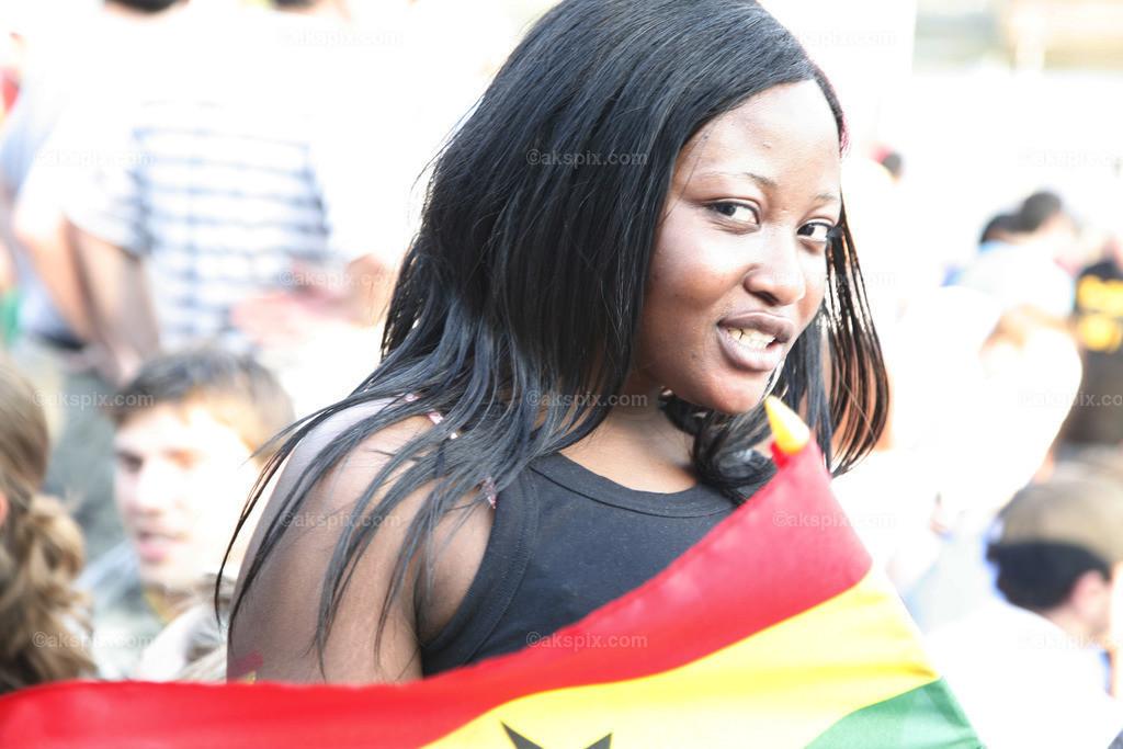 Angola-Frau