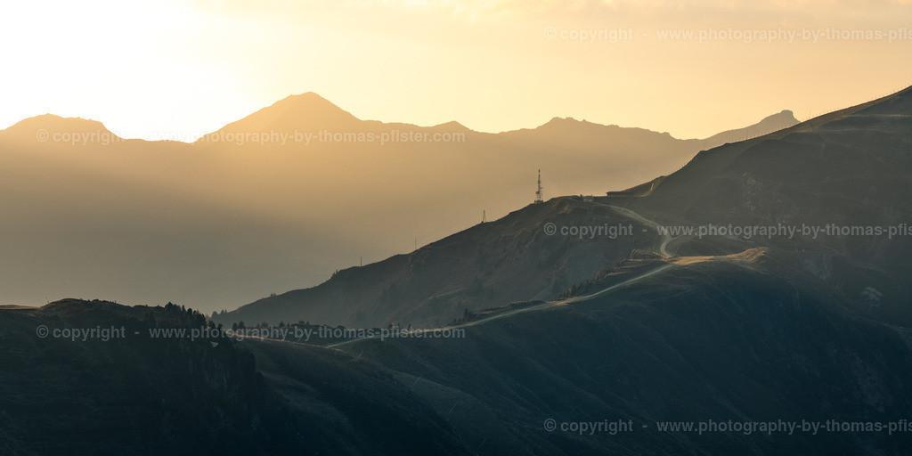 Wangl Tux Finkenberg Sonnenuntergang