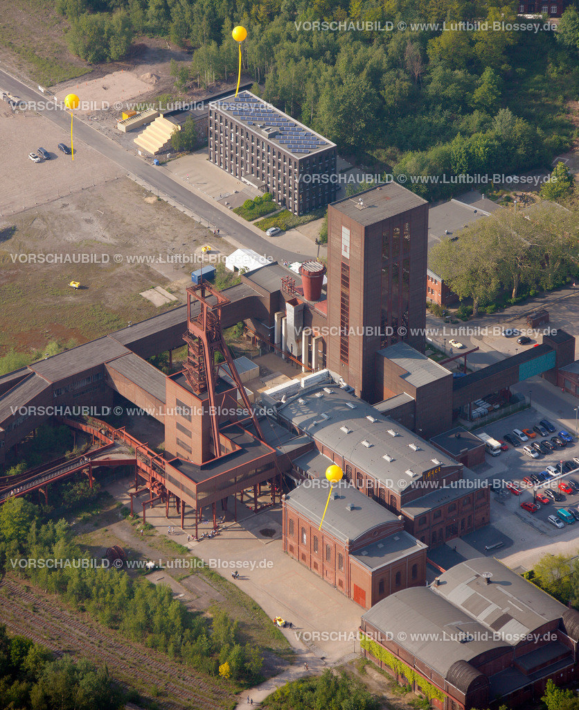 ES10056357 | Zollverein 12/6/8 Weltkulturerbe, Zollverein 3/7/10, Schachtzeichen ruhr2010,  Essen, Ruhrgebiet, Nordrhein-Westfalen, Deutschland, Europa, Foto: hans@blossey.eu, 22.05.2010