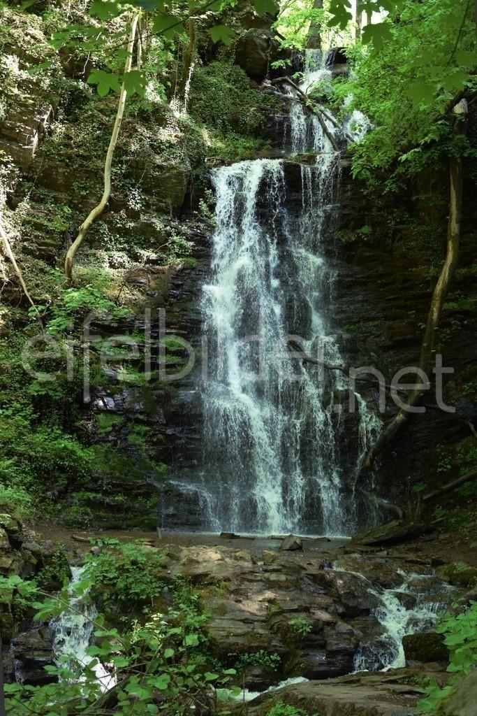 Wasserfall im Wald   Klidinger Wasserfall bei Bad Betrtrich