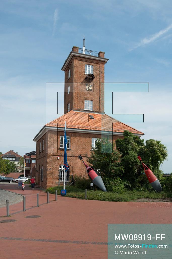 MW08919-FF | Deutschland | Niedersachsen | Brake | Reportage: Reise entlang der Weser | Das 1846 erbaute Schiffahrtsmuseum Unterweser ist im Backsteingebäude