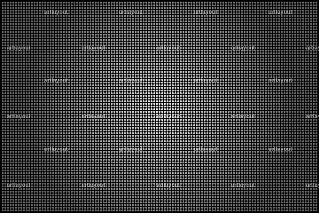 grey metallic grid