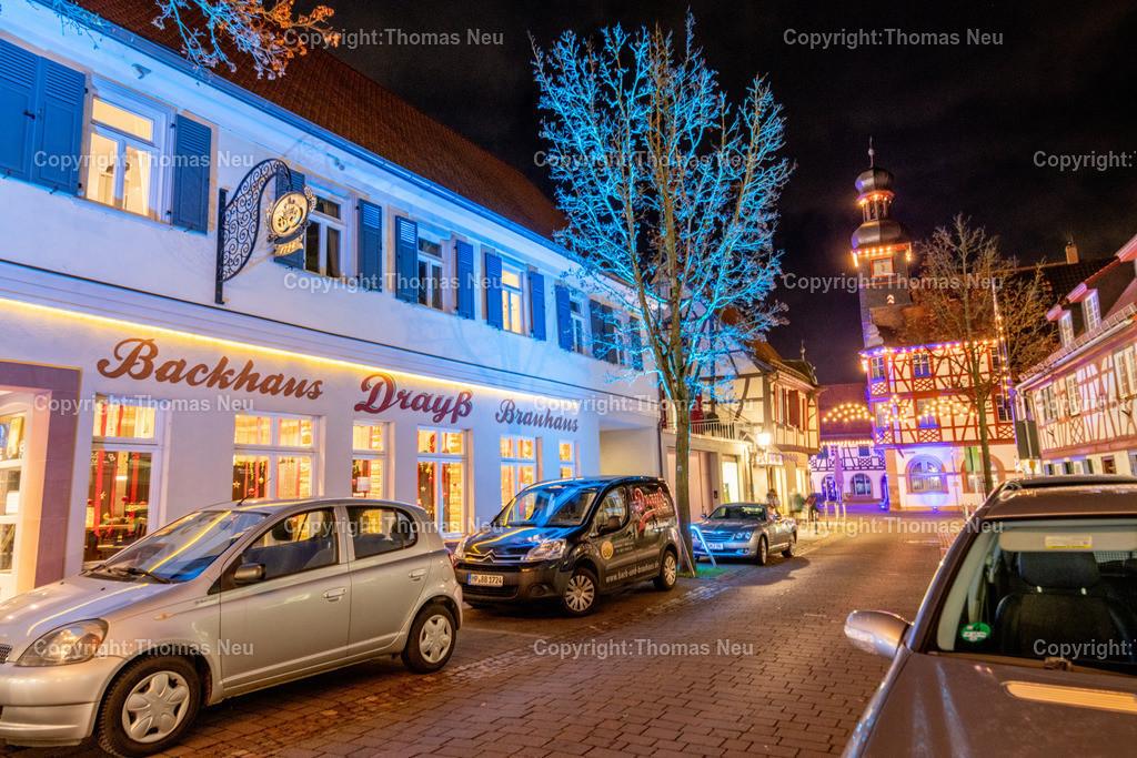 DSC_4232 | ble,Lorsch, blaues Weihnachtswunder, Innenstadt, ,, Bild: Thomas Neu