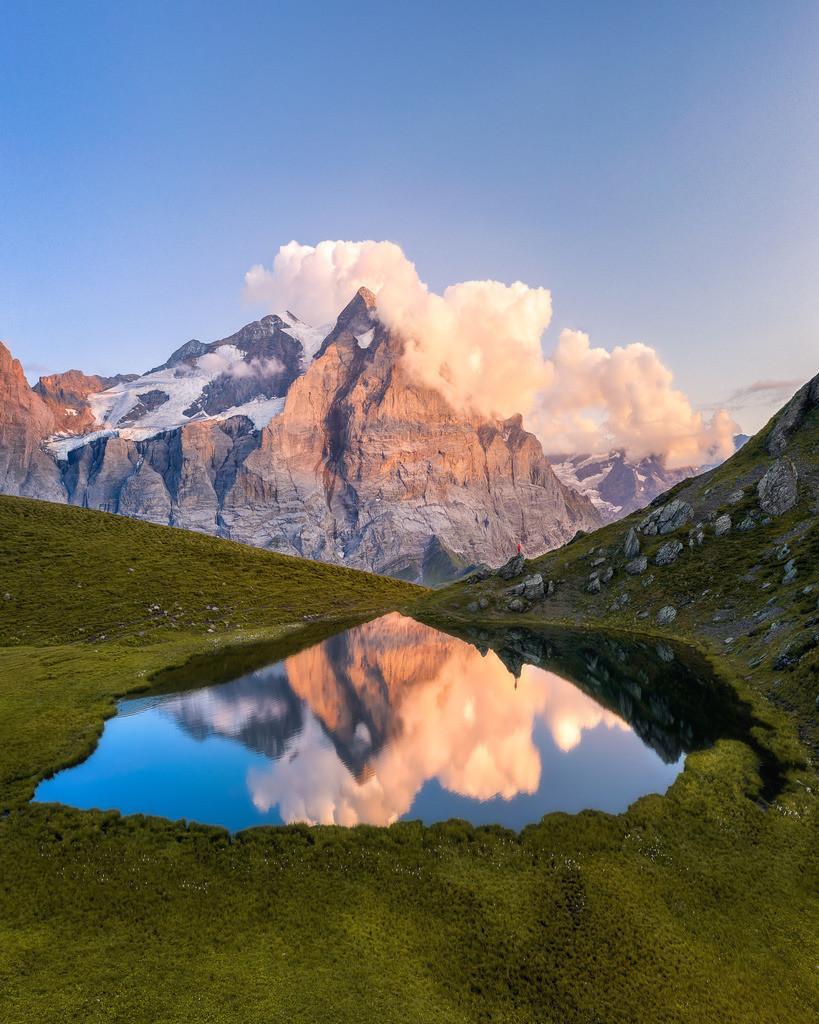 Swiss Alps | Alpine Lake in Switzerland.