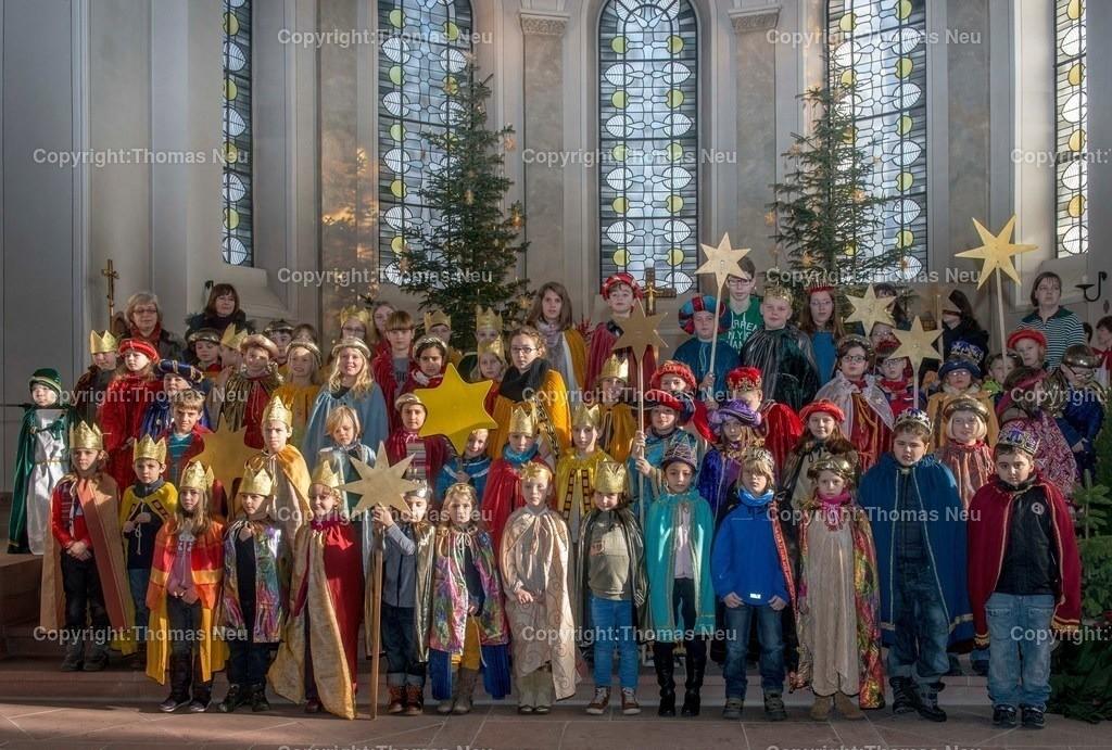 _DSC6858 | Bensheim,Kirche St. Georg Sternsinger,Abschlussgottesdienst,, Bild: Thomas Neu