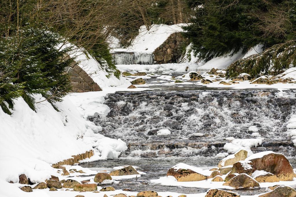 Winter im Riesengebirge bei Spindlermühle, Tschechien | Winter im Riesengebirge bei Spindlermühle, Tschechien.