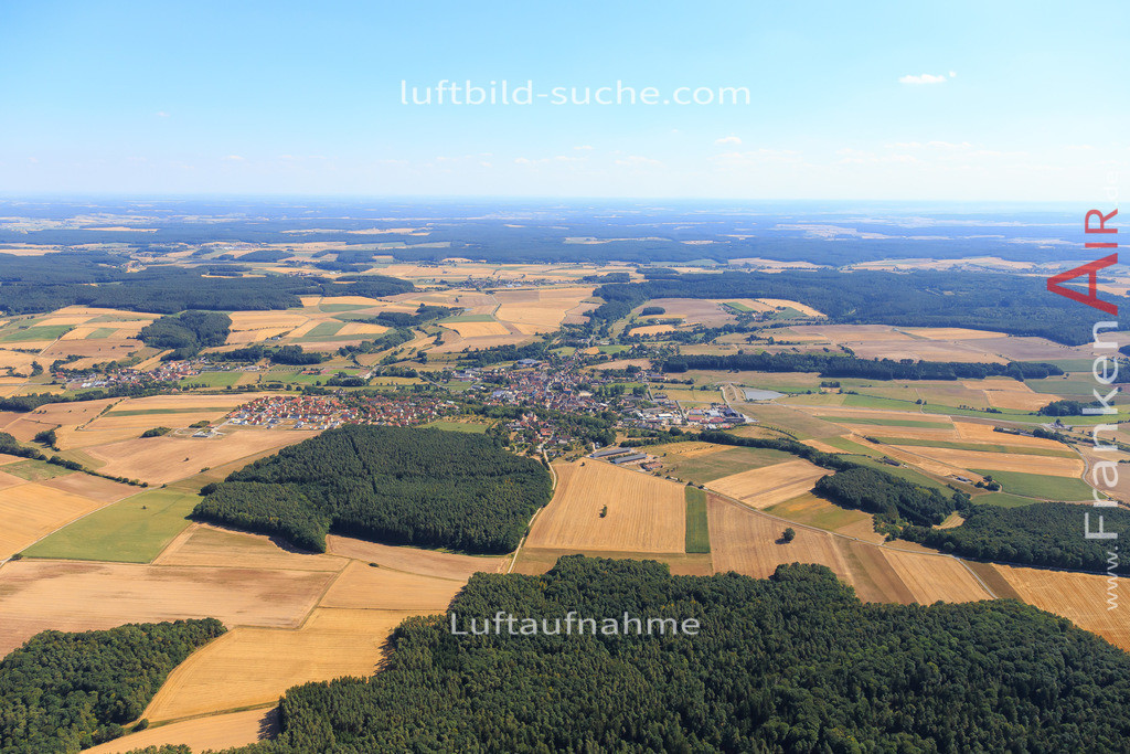 schluesselfeld-2015-2211   Luftbild von  Schluesselfeld - Luftaufnahme wurde 2015 von https://frankenair.de mittels Flugzeug (keine Drohne) erstellt - die Geschenkidee