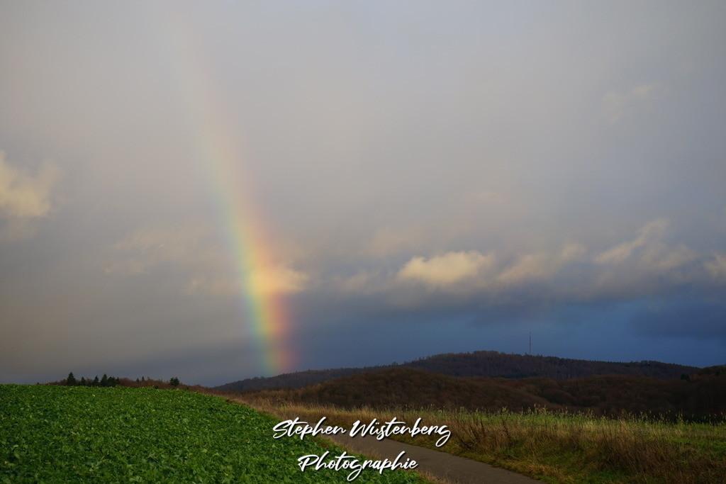 Regenbogen am Donnersberg | Regenbogen am Donnersberg Aufgenommen bei Rockenhausen