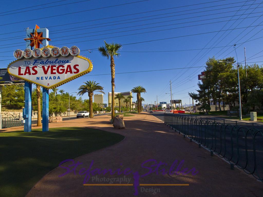 Las Vegas Sign | Las Vegas SIgn am Morgen