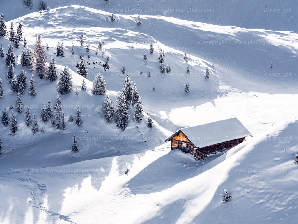 Sommerbergalm im Winter-2