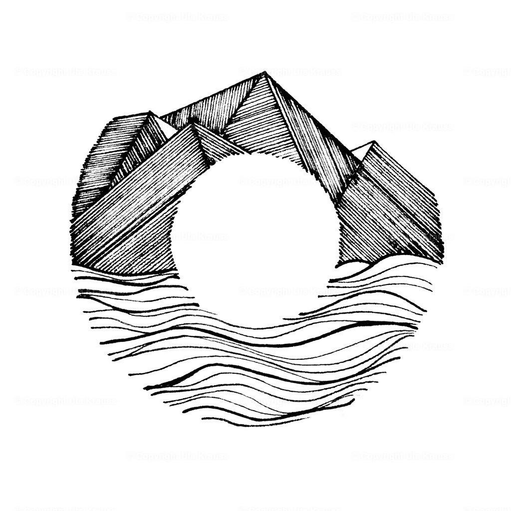 Inner Soul   Graphic Art - Design by Hand