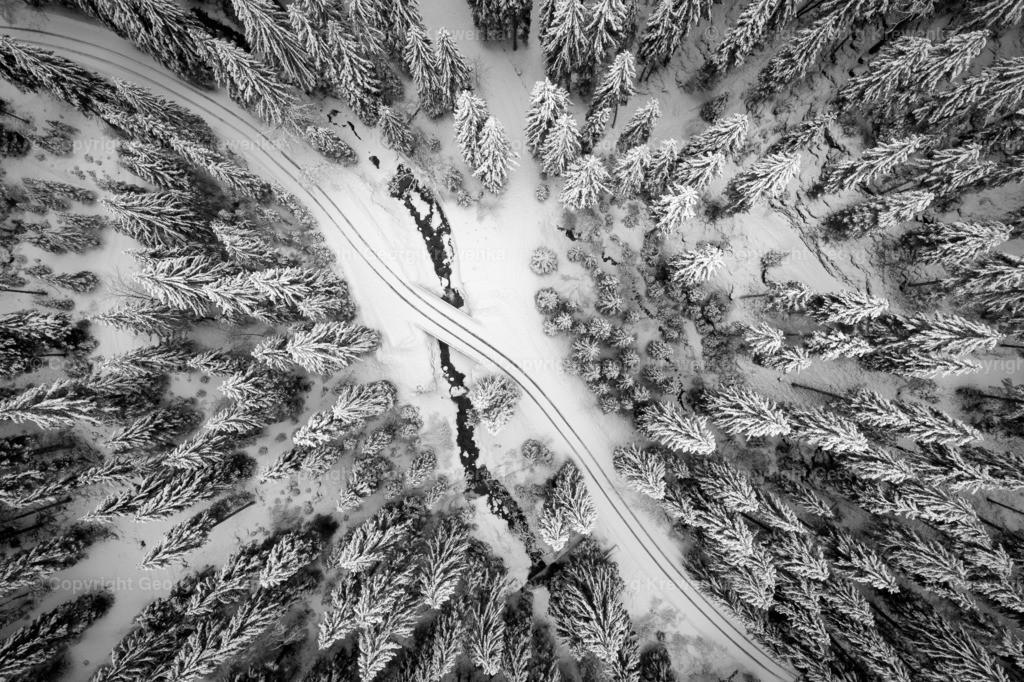 Winter von oben
