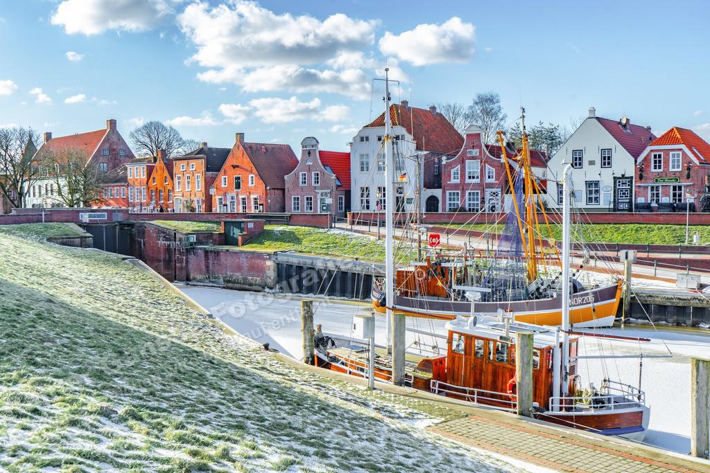 20210212-Hafen in Greetsiel Ostfriesland Krummhörn Winter 12 Februar 2021 _4