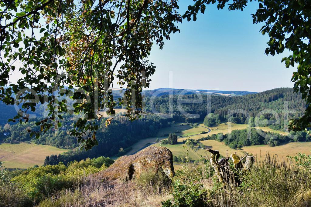 Blick vom Buerberg in Schutz   Blick auf die Eifellandschaft, fotografiert vom Gipfel des Buerberg in Schutz
