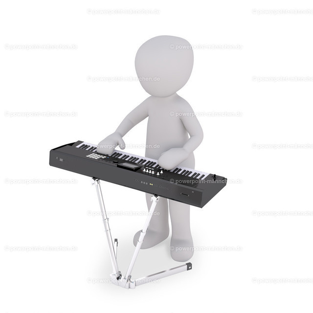 playing the piano keys | Quelle: https://3dman.eu   Jetzt 250 Bilder kostenlos sichern